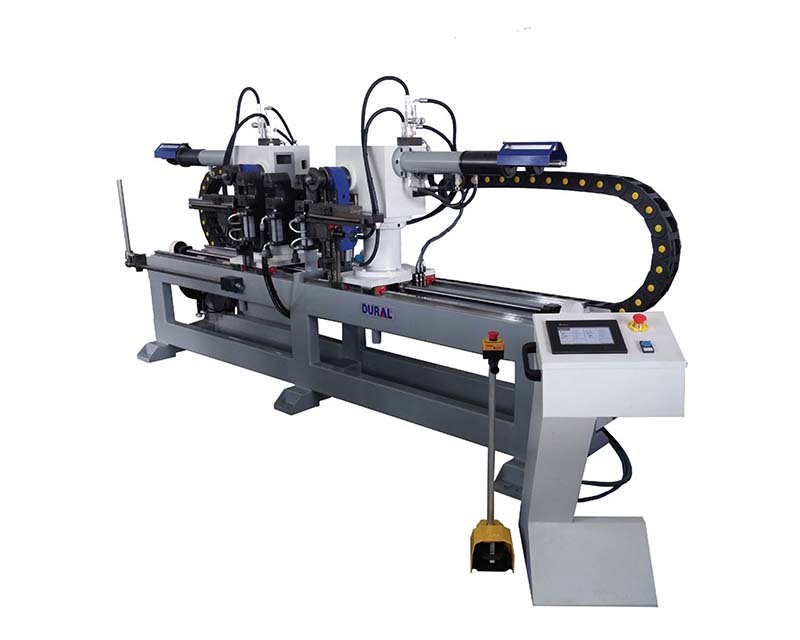 Auto-Double-Heads-Pipe-Bending-Machine